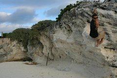 Rock Climbing Photo: Beach Bouldering(if you can call it that) Cancun