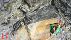 Rock Climbing Photo: Jeff Snyder and Big Balls in Cowtown 5.12-R, Parad...
