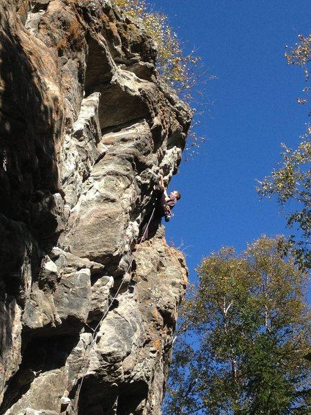 Rock Climbing Photo: François Gosselin in Cherubin...