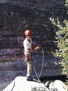 Rock Climbing Photo: Fresh feet,,1st pitch