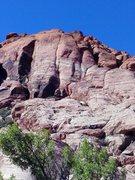 Rock Climbing Photo: Physical Graffiti 5,7 fun.. From the base small sh...