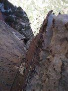 Rock Climbing Photo: 2nd pitch Lotta balls.