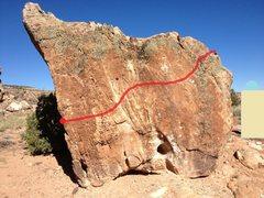 Rock Climbing Photo: David on Pickle Jar.