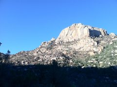 Rock Climbing Photo: Distinguished burn line.
