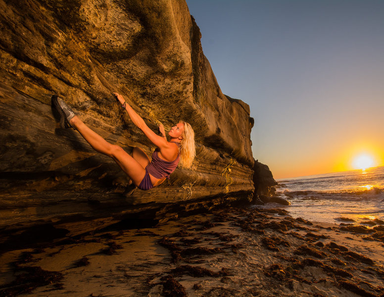 Rock Climbing Photo: La Jolla bouldering
