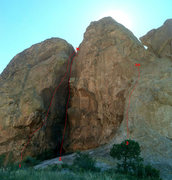 "Rock Climbing Photo: The ""Grotto area"" has the easternmost li..."