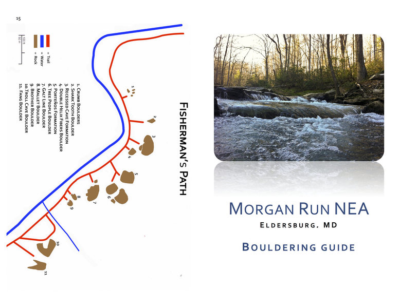 Rock Climbing Photo: Morgan Run Guide Page 1