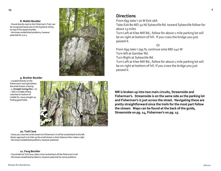 Morgan Run Guide Page 3