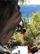 Rock Climbing Photo: Sick!!!  Peter with a rare repeat of this awesome ...