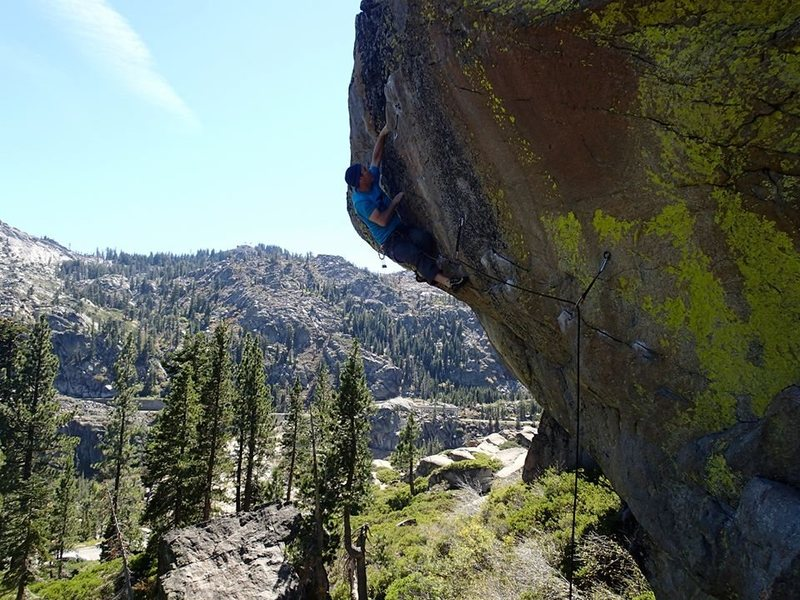 Short Subject, 5.11d, Photo by Michelle B.