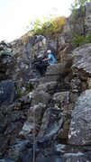 Rock Climbing Photo: An older woman (70) was  perhaps ill-prepared for ...