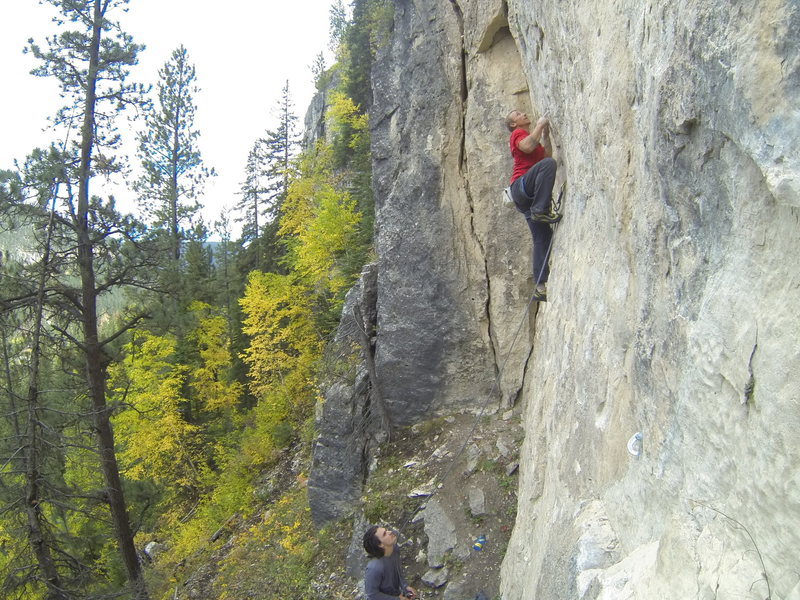 Jamie takes down Mephistopheles, 5.13a