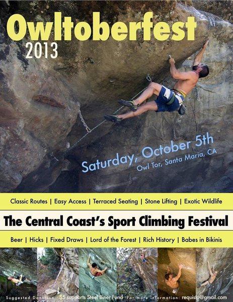 Rock Climbing Photo: Owltoberfest!