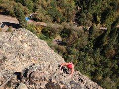 Rock Climbing Photo: Cruiser pitch 3 climbing on King Kong