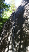 Rock Climbing Photo: Near the top of 7 ounces.  Easy climb, very soft f...