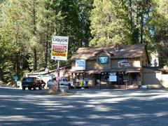 Rock Climbing Photo: Store at the 168 and Dinkey Creek Rd.