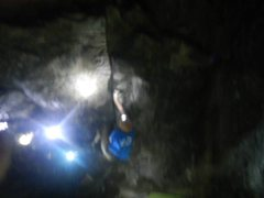 Rock Climbing Photo: After work session.
