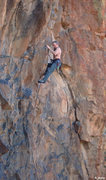 Rock Climbing Photo: Keith Beckley on  Tupper-Where (5.11+)