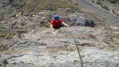 Rock Climbing Photo: Murphski on pitch 2