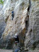 Rock Climbing Photo: Beginning of the Future