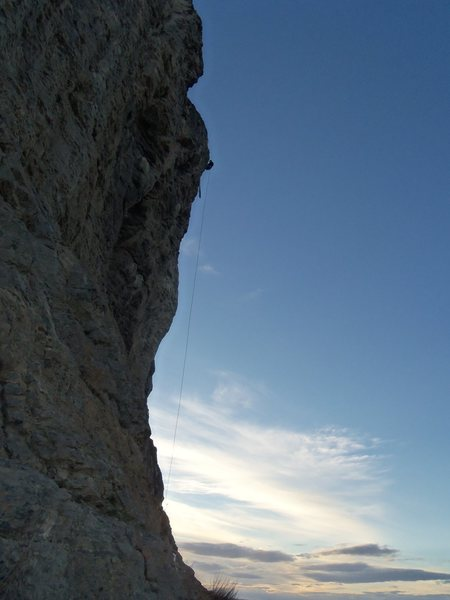 Rock Climbing Photo: North Face Rappell/Climb