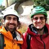 Ross and I in Vedauwoo after Edward's Crack.