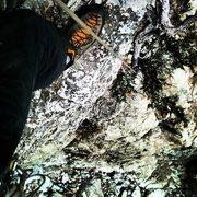 Rock Climbing Photo: Hoop dreams nuckah