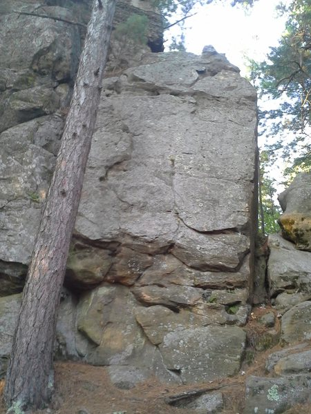 Rock Climbing Photo: Tall Boy to the left and Beer Goggles to the right