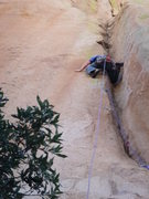 Rock Climbing Photo: Outstanding climbing on pitch 1