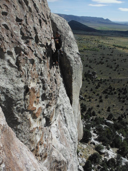 Rock Climbing Photo: Dude on shop and Compare...didn't catch his name. ...