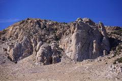 Rock Climbing Photo: Granite Basin Overview