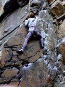 Rock Climbing Photo: TR Face is Great-Choss is off-Birdsboro (5.8)