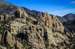 Rock Climbing Photo: East Sector of Castle Rocks