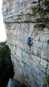 Rock Climbing Photo: Climber on 9-29-13.  I have more pictures - contac...