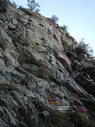 Rock Climbing Photo: The right side of the middle tier