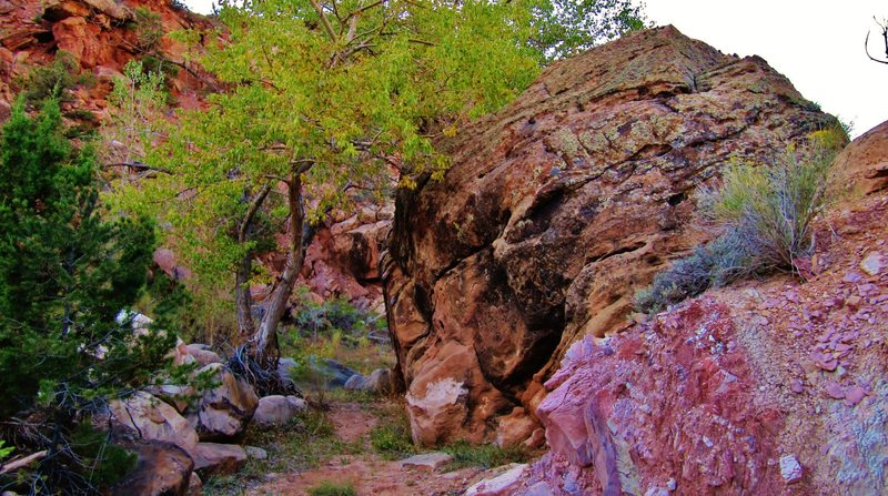 Runaround Rock's south face.