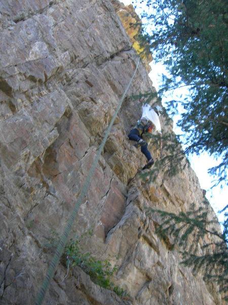 Rock Climbing Photo: Doug ain't that fat.