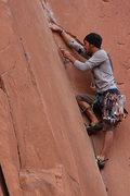 Rock Climbing Photo: Flakes of Wrath