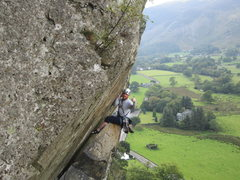Rock Climbing Photo: Andy Ross, 1st Oct 2013. Long way from Salt Lake C...