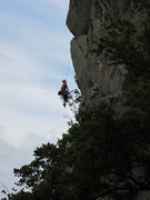 Rock Climbing Photo: When a second falls from Bludgon