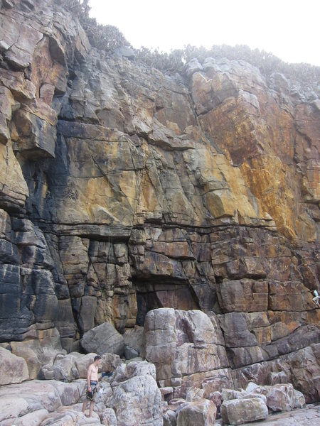Rock Climbing Photo: Legend Wall - including two 13's on the golden are...