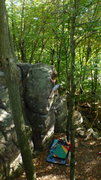 Rock Climbing Photo: Fuzzy to the lip!