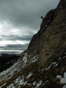Rock Climbing Photo: E man