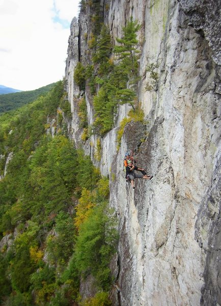 "Two ""very cool"" dudes rapping down Pleasant Overhangs."