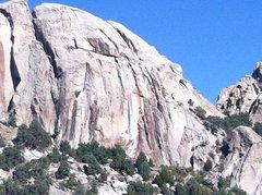Rock Climbing Photo: Topo of Route