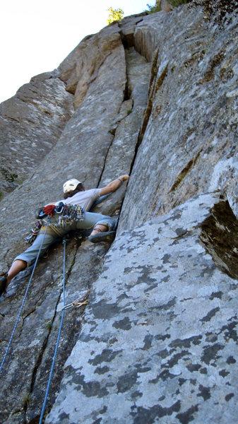 Rock Climbing Photo: The stellar 2nd pitch