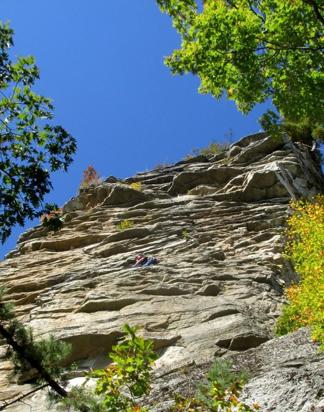 Rock Climbing Photo: Climber at the belay