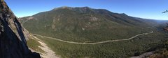 Rock Climbing Photo: Panorama from the top of the cliff. - September 20...