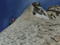 Rock Climbing Photo: Sturgis sharp on slab