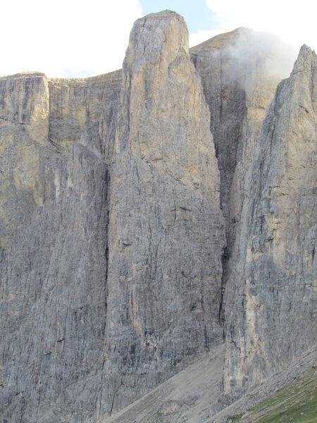Rock Climbing Photo: Third Sellaturm.